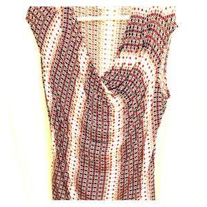 Worthington sleeveless draped tunic XLT 33 stretch